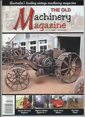 The Old Machinery Magazine TOMM  issue 156 August-September 2011