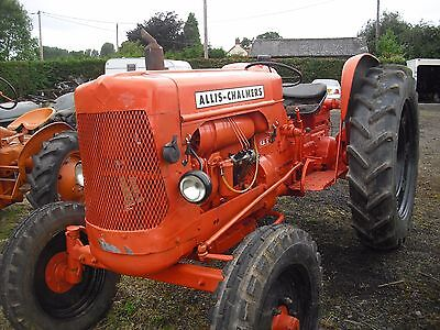 Allis Charmers FD5.   VERY RARE TRACTOR