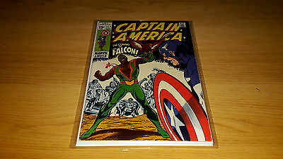Captain America #117 - Marvel Comics - September 1969 - 1st Print - 1st Falcon