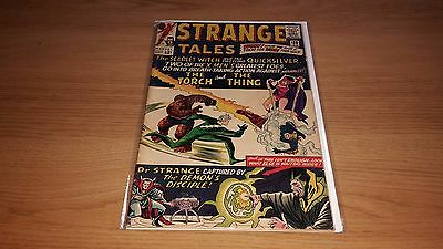 Strange Tales #128 - Marvel Comics - January 1965 - 1st Print - Human Torch