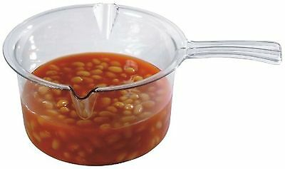 Easy Cook Microwave Sauce Pan Clear