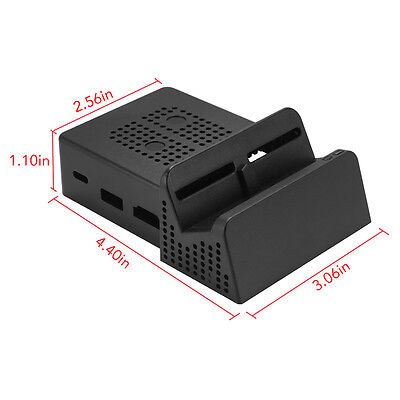 Portable Docking Station Replacement Dock Case Cover For Nintendo Switch AC880