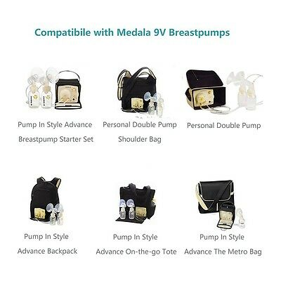 9V Car Vehicle Lighter Adapter for Medela Pump-in-style Advanced Breast Pump, UL
