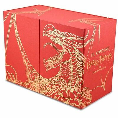 Harry Potter Hardback 7 Books Boxed Set: The Complete Collection By J.K. Rowling