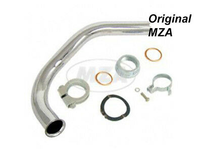 Simson Set Exhaust Manifold - Exhaust Pipe Schwalbe KR51/2 Moped mokick Top NEW