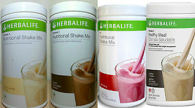 2 x Herbalife shake mix formula 1 New Aussie Stock Exp. 2019 choose any flavour