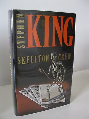 Skeleton Crew Stephen King First Edition Hardback 1St/1St 1985 Scarce
