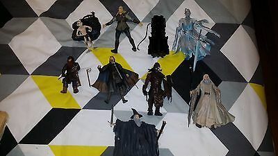 lord of the rings - action figure lot.