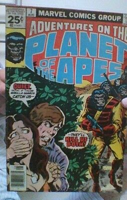 Adventures On The Planet of the Apes  # 7 - Marvel US comic