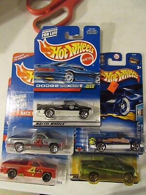 Hot Wheels Lot of (5) Dodge Ram Truck Types!! All Different Lot #1