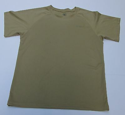 BSA Boy Scouts of America Uniform Polyester Crew Neck Shirt Youth Medium T-Shirt