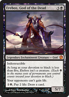MRM FRENCH Érébos, dieu des Morts (God of the Dead) MTG magic THS