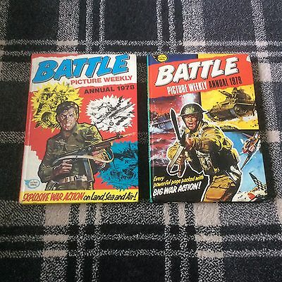 Battle Picture Weekly Annual 1978 1979 Vintage Action/Adventure
