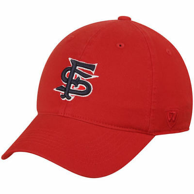 best loved 5e25f 8712a Top of the World Fresno State Bulldogs Red Relaxer 1Fit Flex Hat