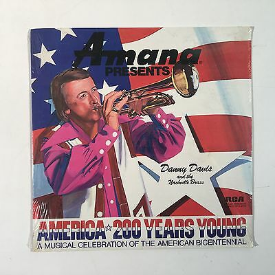 SEALED Danny Davis The Nashville Brass ‎America 200 Years Young / RCA DPL1-0176