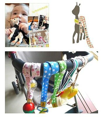 Toy Saver Sippy Cup Baby Bottle Strap Holder For Stroller/High Chair/Car Seat