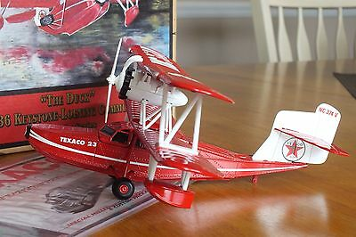 """Collectible Model Plane """"Wings Of Texco,The Duck"""""""