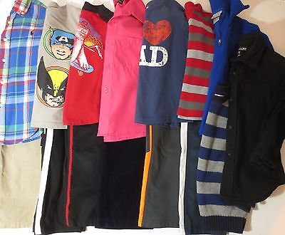 Boys Size 4T 4 4/5 Fall Winter Clothes LOT