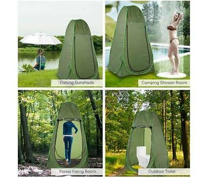 Pop Up Shower Changing Tent Beach Camping Portable Private Outdoor Toilet WS