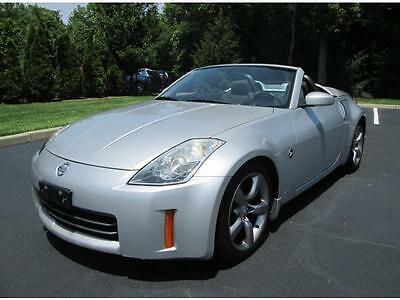 2006 Nissan 350Z Convertible 2006 Nissan 350Z Convertible Only 51K Miles Loaded Sharp Car Must See and Drive