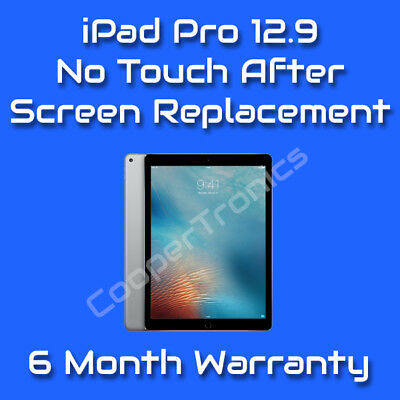 iPad Pro 12.9 No Touch After Screen Replacement Repair Fix Service