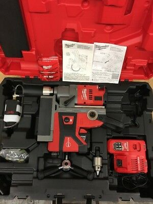 "milwaukee 2787-22hd M18 Fuel 1-1/2"" Magnetic Drill Press"