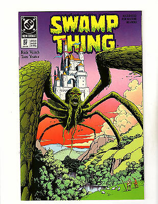 Swamp Thing #87 (1989, DC) VF Vol 2 Rick Veitch Camelot King Arthur Story