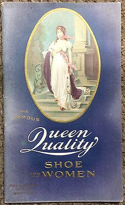 Vintage 1900 Queen Quality Shoe for Women Illustrated Catalog