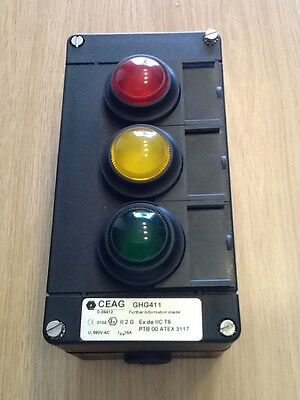 Ceag GHG411 control station, ATEX, SAFETY