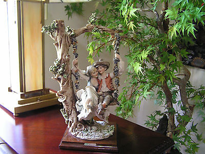 """Giuseppe Armani Porcelain Sculpture - Innocence of Young Love (15"""" tall)"""