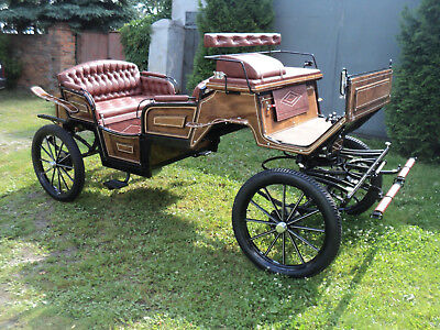 Brand New Horse Carriage Vis-a-vis
