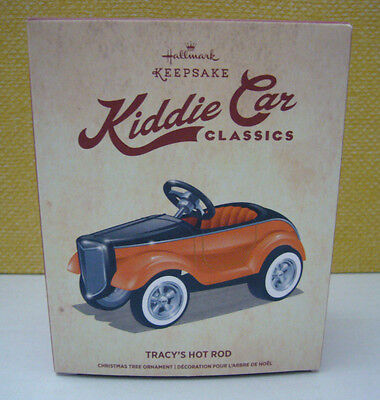 Hallmark Keepsake Kiddie Car Classics TRACY'S HOT ROD Die Cast Metal New in Box