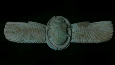 Ancient Egyptian winged scarab