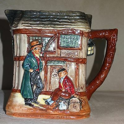 Royal Doulton Dickens Series G 'Oliver Twist' Relief Jug D5617 Ultra Rare Mint