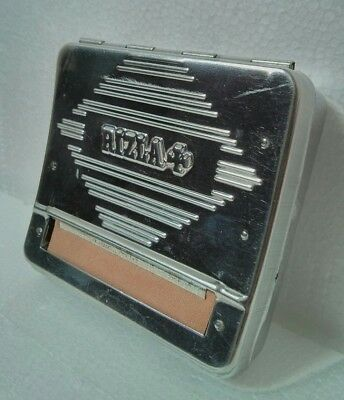 rizla rolling machine tin
