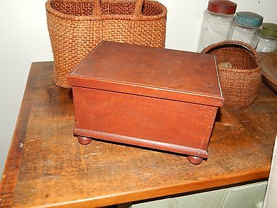 Antique Miniature Blanket Chest, York County, Pennsylvania