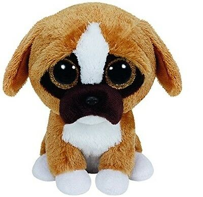 Ty - Ty36188 - Peluche - Beanie Boos - Small - Brutus Le Boxer