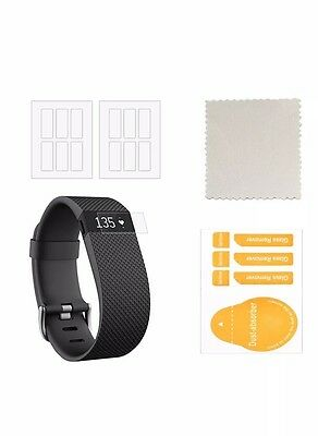 CIKIShield Resistant Screen protector For Fitbit HR 12 Pack