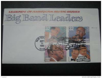 USA Big Band Leaders1996 Cover About