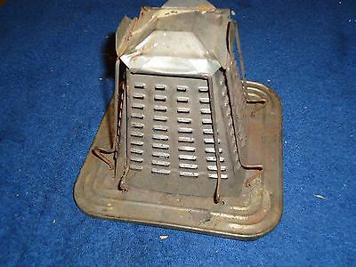 Vintage Non Electric Stove Top Pyramid Shape Toaster 4 Slice Kitchen Collectable