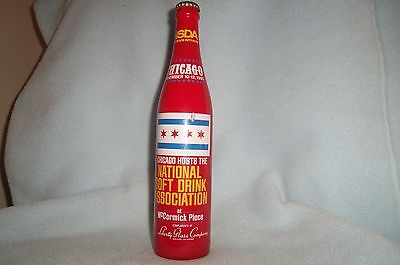NSDA 16 oz. commemorative bottle 1980 convention Chicago