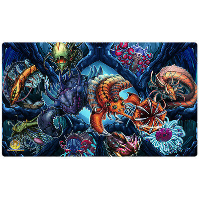 FREE SHIPPING Yugioh Playmat Paleozoic Play Mat Paleozoic Playmat Frog