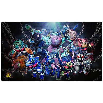 FREE SHIPPING Custom Yugioh Playmat Play Mat Frightfur Sabre-Tooth DOCS-EN043