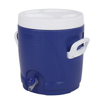 15L Cooler with Cup Holder Drink Tap Jug Portable Camping Picnic Fishing Travel