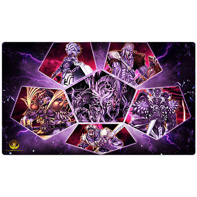 FREE SHIPPING Yugioh Playmat Darkworld Play Mat Grapha Dragon Lord of Dark World