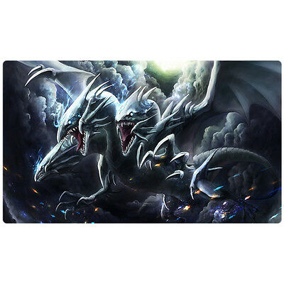 FREE SHIPPING Custom Blue-Eyes Playmat Blue-Eyes Ultimate Dragon RP01-EN000