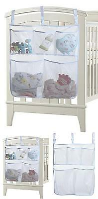 5 Pockets Baby Hanging Storage Bag Organizer Bedside Caddy Toy Diaper Holders