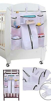 8 Pockets Baby Organizer Hanging Nursery Diaper Caddy Clothing Storage Holders