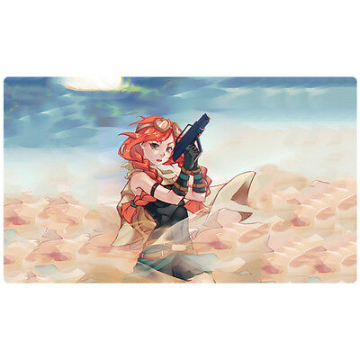 FREE SHIPPING Custom Yugioh Playmat Kozmo Farm Girl Play Mat Kozmojo CORE-EN082