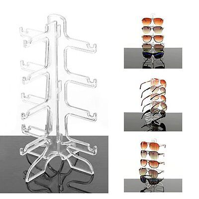 HOT Sunglasses Eye Glasses Display Rack Stand Holder Organizer 4/6 Layers AW